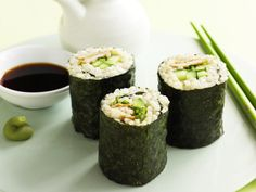 Impress your friends with sushi made completely from scratch. It is fantastic party food that is satisfying to make and to eat.