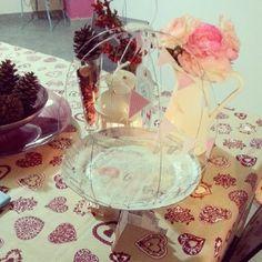 Design Craft- alzatina per dolci in carta e fil di ferro