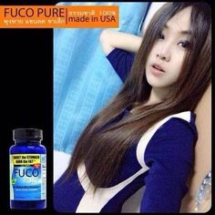 """FUCO PURE """" TARGET THE STOMACH BURN THE FAT """" Price US$70 / Bottle ( 90 Capsules ) Pre - Order 00 66 84 259 2278"""
