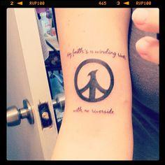 I love this. Ryan Adams tattoo