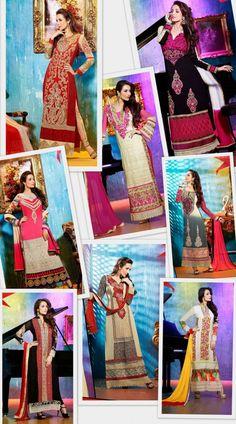 Buy online Bollywood Celebrity Malaika Arora Pakistani Salwar Kameez Suits online.  Add them To your wish List:- http://www.shoppers99.com/festive_sale/malaika_arora_khan_designer_pakistani_suits
