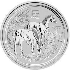 2014 series 2 - Australian Silver Lunar Horse Bullion Coin