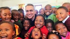 Martin Kassir, Co-Creator of our Uth Creme, visits South Africa for Mission 5 Million. Visit South Africa, Dr Martins, Children In Need, Nutritional Supplements, The Creator, Mood