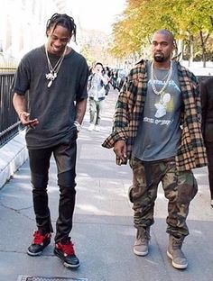 Travis Scott Fans — welovetravisscott:   Travis Scott x Kanye West