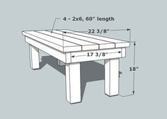 simple wooden bench designs
