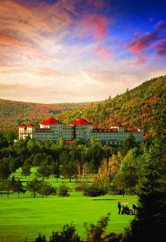 For Leaf Pers The Best Hotels Fall Foliage