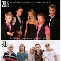 Then and now!