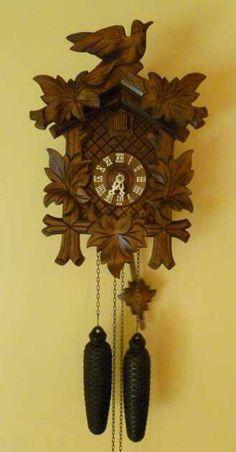 Cuckoo Clock - Black Forest< My grandma had one. Retro Vintage, Vintage Toys, Vintage Stuff, Sweet Memories, Childhood Memories, Coo Coo Clock, Black Forest Germany, Oldies But Goodies, Ol Days