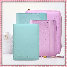 ★ DOKIBOOK Agenda Diario A5 A6 Small Large Lilac Mint Elastico Zip planner kikki