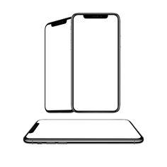 Iphone X Mockup 3 Views Free PSD