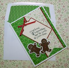 Scentsational Season Christmas card (Stampin' Up!)