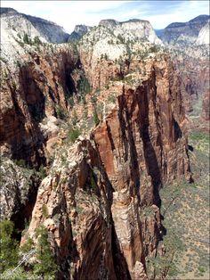 Angels Landing Zion National Park (  southern Utah )