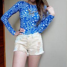 body-estampado-geométrico-azul-maiô-mangas-longas-decote-costas-2016-moda-hora-de-diva