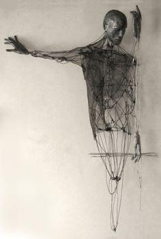 'Memories of the thirst by Italian artist Giorgio Cecchinato Mixed media sculpture, x x in. via Saatchi Art Sculpture, Sculptures, Mixed Media Sculpture, 3d Zeichenstift, Art Blanc, Figurative Kunst, Creation Art, Wow Art, Pablo Picasso