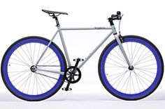 Grey and Blue Fixie