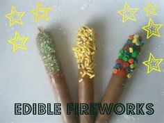 edible sparklers - Bing images