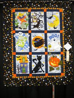 Spooktacular pattern by the Quilt Company