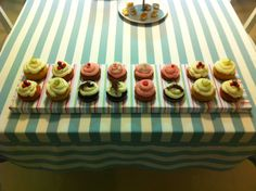 Cupcakes for Nakis' 30+1 birthday