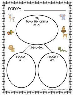 Kindergarten Common Core Writing Unit 5 {Persuasive and Op