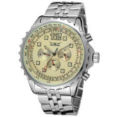 >> Click to Buy << 2017 Hot Nice JARGAR Men's Mechanical Watch Calendar watch Date Hour Week Steel Strap Multifunctional Wristwatches #Affiliate