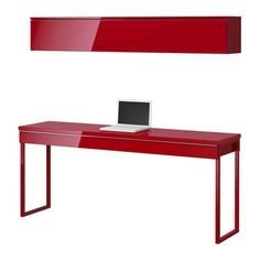 desk with shelves | BESTÅ BURS desk and floating shelf from IKEA | Desks | Home office ...