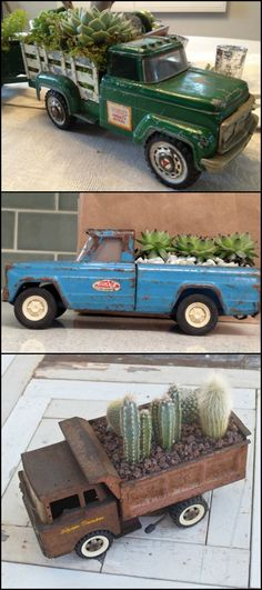 There's something about planters with wheels that we find adorable. Agree? These planter ideas are proof that plants and wheels go well together! http://theownerbuildernetwork.co/ytdv Planters with wheels, like the ones featured below, make cute and decorative features for your garden. As a bonus, they're mobile and can be moved around your yard as needed! See more great examples across on our main site by clicking the link above! Do you have one like these in your garden? :)