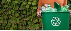 Waste Management's recycling program. They list what they recycle, drop-off locations, and home and mail options.