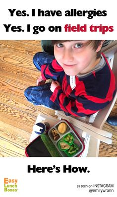 Kids with allergies don't have to miss out. #easylunchboxes