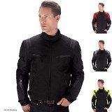 Viking Cycle Ironborn Motorcycle Textile Jacket (Black-M)