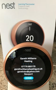 Nest and Atag iC Economiser 27 Installation by Dan and Josh at a customers home in Pontprennau, Cardiff. The customer wanted a super efficient boiler and thermostat so decided on an Atag & Nest Learning Thermostat. @checkatrade  We have another happy customer 👏🏻 #southwales #atagheating #boilers #heating #cardiff #pontprennau #gassaferegister #heatingengineers #plumbers