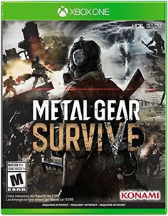 Get Metal Gear Survive release date (Xbox One, cover art, overview and trailer. METAL GEAR SURVIVE is a survival action game in an alternative universe. In a struggle to survive and understand this new environment, players engage in both single player. Metal Gear Solid, Survival Skills, Survival Gear, Survival Prepping, Emergency Preparedness, Xbox One Price, Metal Gear Survive, Instant Gaming, Ps4 Review