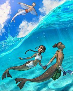 Team Avatar, Princess Zelda, Disney Princess, The Last Airbender, Disney Characters, Fictional Characters, Artsy, Fan Art, The Originals