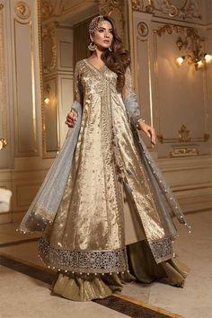 80ee65d350 Maria B Mbroidered Wedding Collection 2018 -Ganga Jamni- Party wear, Formal  Pakistani,