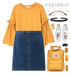 """Jae"" by vip-beauty ❤ liked on Polyvore featuring MANGO, Fjällräven, Humble Chic, Joshua's, Disney and insomnia"