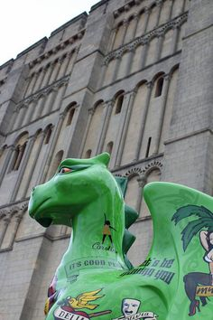 #GoGoDragons! is an interactive arts sculpture trail bringing 84 large dragon sculptures and 120 school dragons to the City of #Norwich.