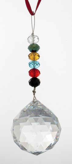 This is a large crystal to hang in any room in the home to enhance the energy there. Comes with a map to show the area best for family, relationships/love, wealth, career, fame/reputation, support, cr