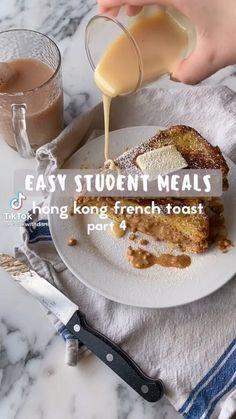 Fun Baking Recipes, Healthy Dessert Recipes, Snack Recipes, Cooking Recipes, Breakfast Snacks, Just Cooking, Easy Food To Make, Sleepover, Diy Food