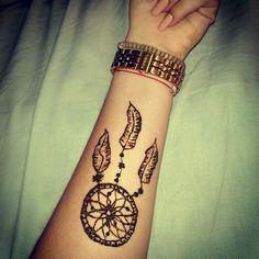 Henna dreamcatcher