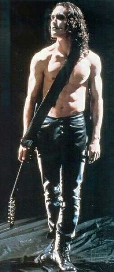 We Goths do love our beautiful tragedies... pt. 1.                                              Eric Draven as played brilliantly by Brandon Lee
