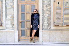 dsc_0092 Leather Skirt, Dresses With Sleeves, Long Sleeve, Skirts, Fashion, Moda, Leather Skirts, Sleeve Dresses, Skirt