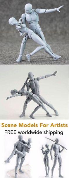 Body-Kun Man Models for Artists - Scene Makers