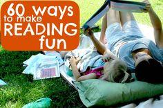 The Iowa Farmer's Wife: 60 Ways to Make {Reading} Fun