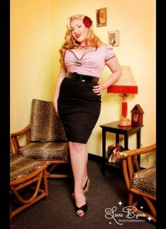 pin up girls style