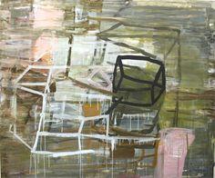 """Deborah Dancy, A House is Not a Home, 2013, Acrylic on Canvas 60"""" x 72"""""""