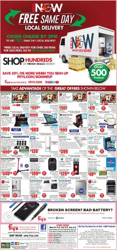 Fry's Electronics Weekly Ad April 2 - 8, 2017 - http://www.olcatalog.com/electronics/frys-weekly-ads.html