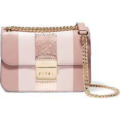 MICHAEL MICHAEL KORS   Shoulder Bags ($230) ❤ liked on Polyvore featuring bags, handbags, shoulder bags, pink handbags, shoulder bag handbag, shoulder bag purse, shoulder handbags and shoulder hand bags