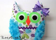 Pinterest Fanatic Favorite Finds:   Owl Pillows, Owl Pillows, Owl Pillows from etsy - love these!
