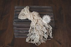 Heirloom Crocheted Wrap - SOFT CREAM - Vintage Style, $18.00 by TFJ Designs