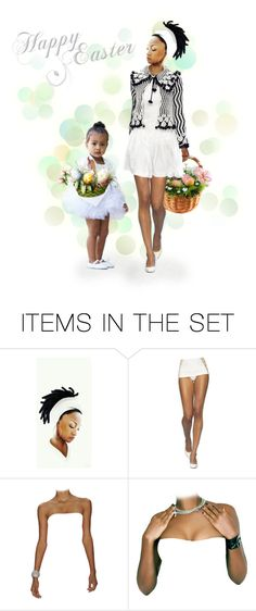 """""""Happy Easter :)"""" by riri-thatsme ❤ liked on Polyvore featuring art"""