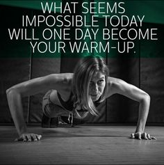 Motivation - Warm Up - Workout - Work It!!!!